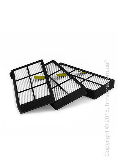 Комплект из 3-х сменных фильтров HEPA для iRobot Roomba 800-й и 900-й серии