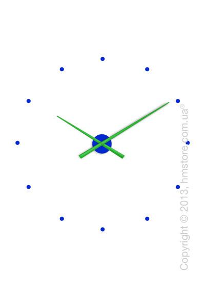 Часы настенные Nomon OJ Mixto Wall Clock, Green and Blue