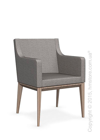 Кресло Calligaris Bess Armchair, Ashwood natural and Denver fabric cord