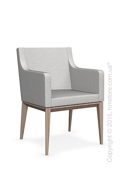 Кресло Calligaris Bess Armchair, Ashwood natural and Denver fabric sand