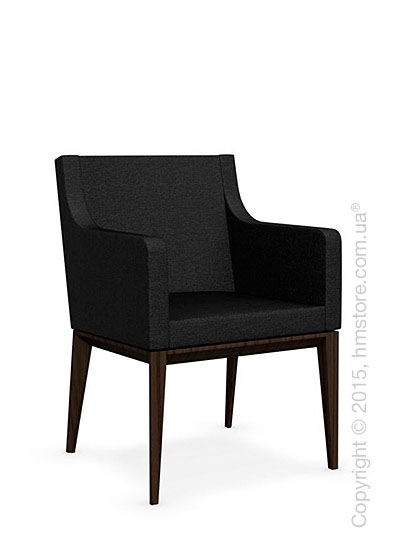 Кресло Calligaris Bess Armchair, Ashwood smoke and Denver fabric anthracite