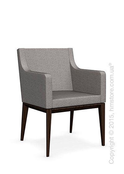 Кресло Calligaris Bess Armchair, Ashwood smoke and Denver fabric cord