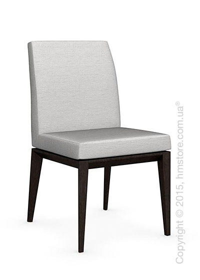 Стул Calligaris Bess Low, Solid wood wenge beech stained and Denver fabric sand