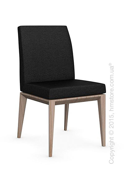 Стул Calligaris Bess Low, Ashwood natural and Denver fabric anthracite