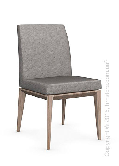 Стул Calligaris Bess Low, Ashwood natural and Denver fabric cord