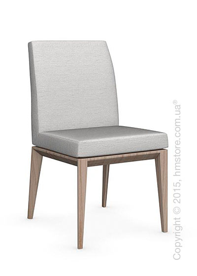 Стул Calligaris Bess Low, Ashwood natural and Denver fabric sand