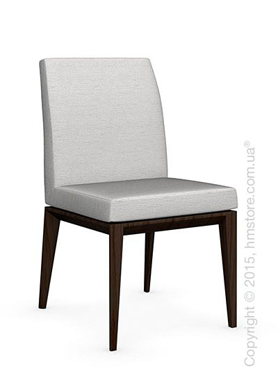 Стул Calligaris Bess Low, Ashwood smoke and Denver fabric sand