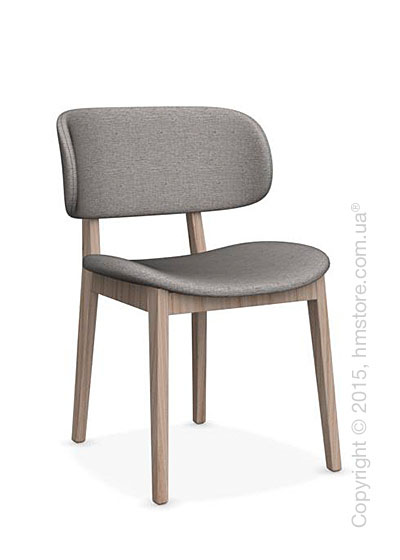 Стул Calligaris Claire, Ashwood natural and Denver fabric cord
