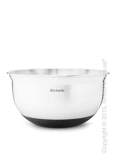 Салатница Brabantia Mixing Bowl 1 л, Matt Steel
