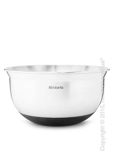 Салатница Brabantia Mixing Bowl 1,6 л, Matt Steel