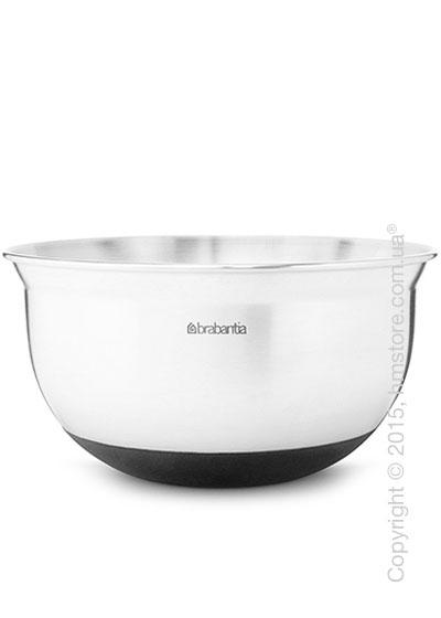 Салатница Brabantia Mixing Bowl 3 л, Matt Steel