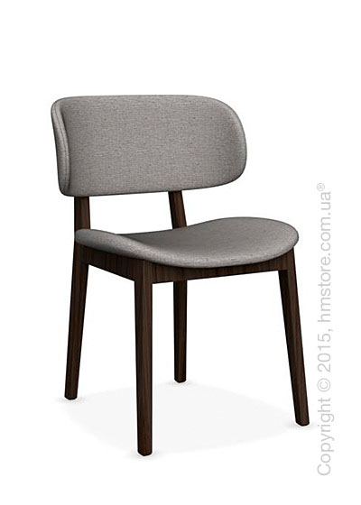 Стул Calligaris Claire, Ashwood smoke and Denver fabric cord