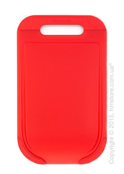 Разделочная доска Brabantia Cutting Board Medium Tasty Colours, Red