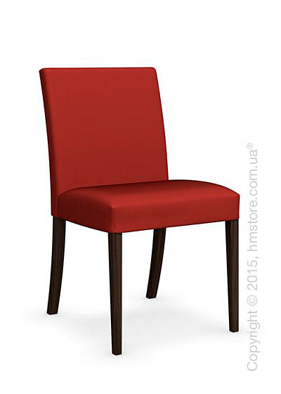 Стул Calligaris Dolcevita Low, Solid wood smoke and Oslo fabric red