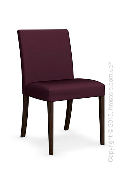 Стул Calligaris Dolcevita Low, Solid wood smoke and Oslo fabric aubergine purple