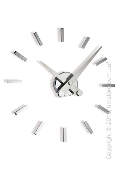 Часы настенные Nomon Puntos Suspensivos 12 I Wall Clock, Steel