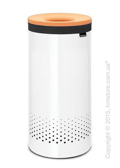 Бак для белья Brabantia Laundry Bin 35 л, Cork Lid, White and Cork Brown