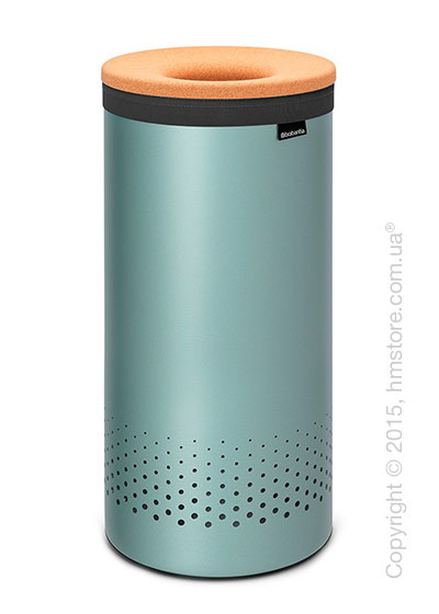 Бак для белья Brabantia Laundry Bin 35 л, Cork Lid, Mint and Cork Brown