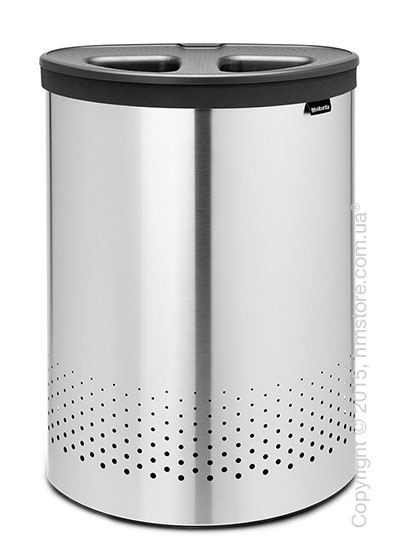 Бак для белья Brabantia Laundry Bin Selector 55 л, Matt Steel