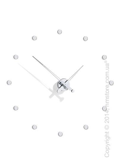 Часы настенные Nomon Rodon 12 I Wall Clock, Steel