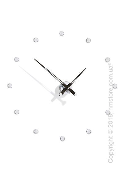 Часы настенные Nomon Rodon 12 I Wall Clock, Black