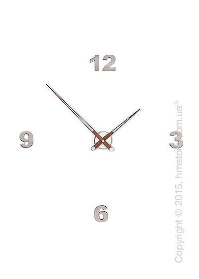 Часы настенные Nomon Axioma N 4 I Numbers Pack Wall Clock, Walnut