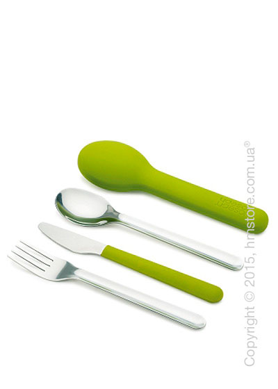 Набор столовых приборов Joseph Joseph GoEat Space-saving Cutlery Set на 1 персону, 4 предмета, Green