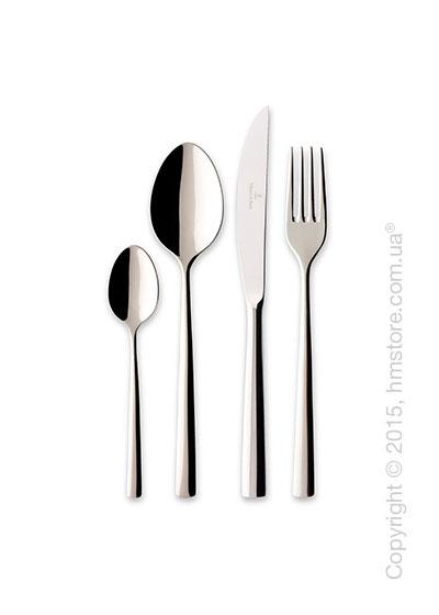 Набор столовых приборов Villeroy & Boch коллекция Piemont Lunch на 12 персон, 113 предметов