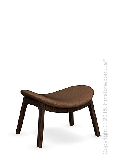 Подставка для ног Calligaris Lazy Ottoman, Ashwood smoke and Kama fabric taupe
