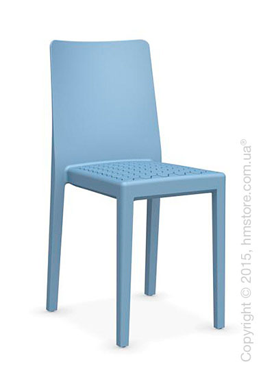 Стул Calligaris MS4 Polypropylene chair, Sky blue
