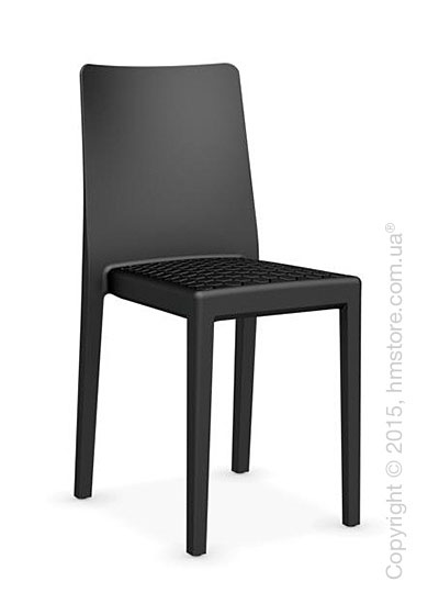 Стул Calligaris MS4 Polypropylene chair, Matt black