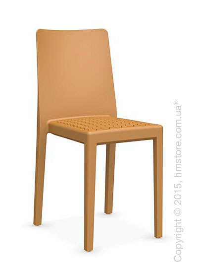 Стул Calligaris MS4 Polypropylene chair, Mustard yellow