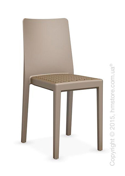 Стул Calligaris MS4 Polypropylene chair, Matt nougat