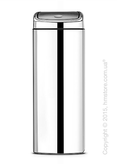 Ведро для мусора Brabantia Touch Bin 25 л, Brilliant Steel