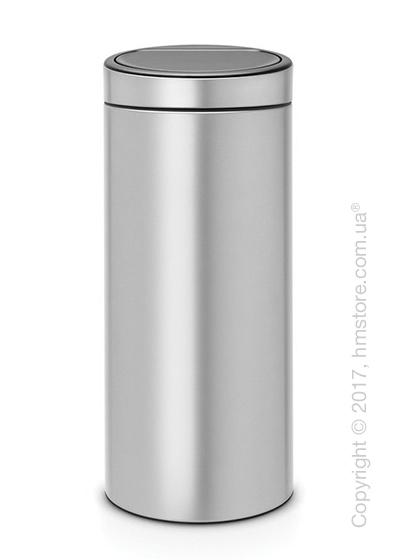 Ведро для мусора Brabantia Touch Bin New 30 л, Metallic Grey