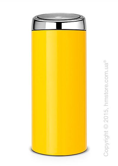 Ведро для мусора Brabantia Touch Bin 30 л, Lemon Yellow