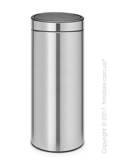 Ведро для мусора Brabantia Touch Bin New 30 л, Matt Steel Fingerprint Proof