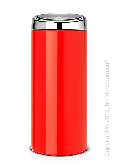 Ведро для мусора Brabantia Touch Bin 30 л, Lipstick Red