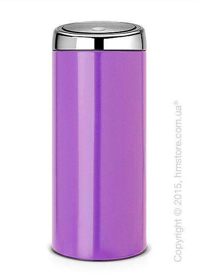 Ведро для мусора Brabantia Touch Bin Lid 30 л, Pansy Purple