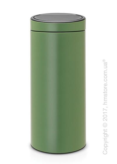 Ведро для мусора Brabantia Touch Bin New 30 л, Moss Green