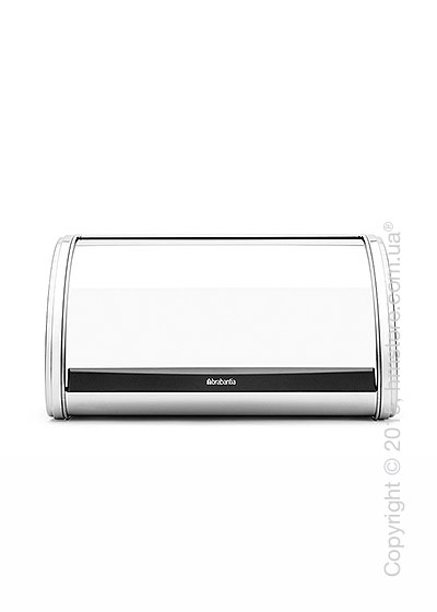 Хлебница Brabantia Roll Top Bread Bin Medium, Brilliant Steel