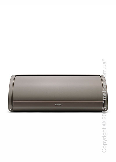Хлебница Brabantia Roll Top Bread Bin, Platinum