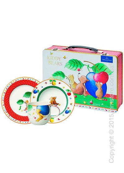 Набор детской посуды Villeroy & Boch коллекция Kiddy Bears, 3 предмета