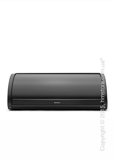 Хлебница Brabantia Roll Top Bread Bin, Matt Black