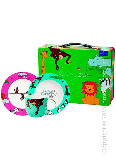 Набор детской посуды Villeroy & Boch коллекция Funny Zoo, 3 предмета