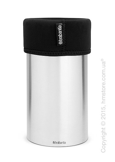 Кулер для вина Brabantia Wine Cooler, Matt Steel and Black