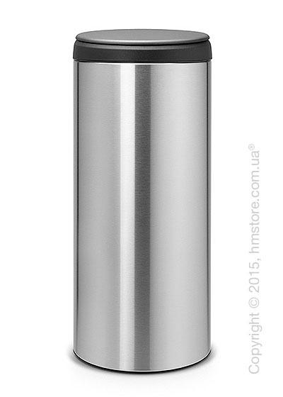 Ведро для мусора Brabantia FlipBIn 30 л, Matt Steel Fingerprint Proof