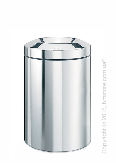 Ведро для мусора Brabantia Flame Guard 7 л, Brilliant Steel