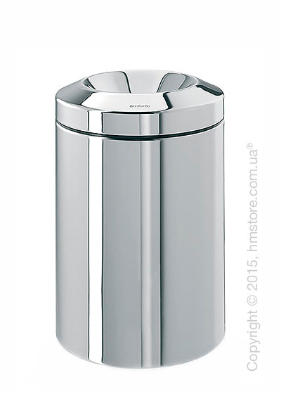 Ведро для мусора Brabantia Flame Guard 15 л, Brilliant Steel