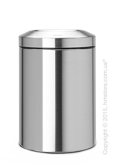 Ведро для мусора Brabantia Flame Guard 15 л, Matt Steel